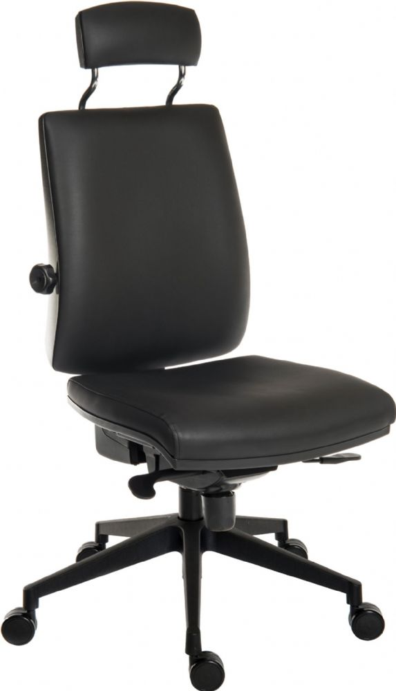 TEKNIK ERGO PLUS ULTRA HR Leather Look Ergonomic Ultra Plus Chair